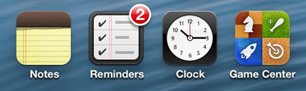 "New In iOS 6- More Emoji Icons, Banners For ""New"" Apps, Badges For Reminders App-2.jpg"