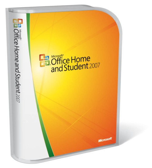 MS Office 2007 Home and Student OEM.